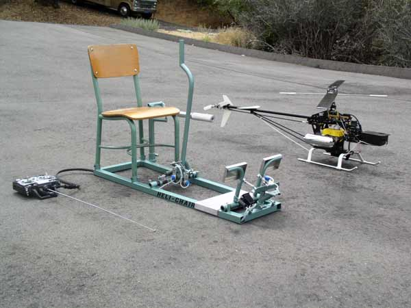 The ultimate helicopter flight training system, Heli-Chair ...