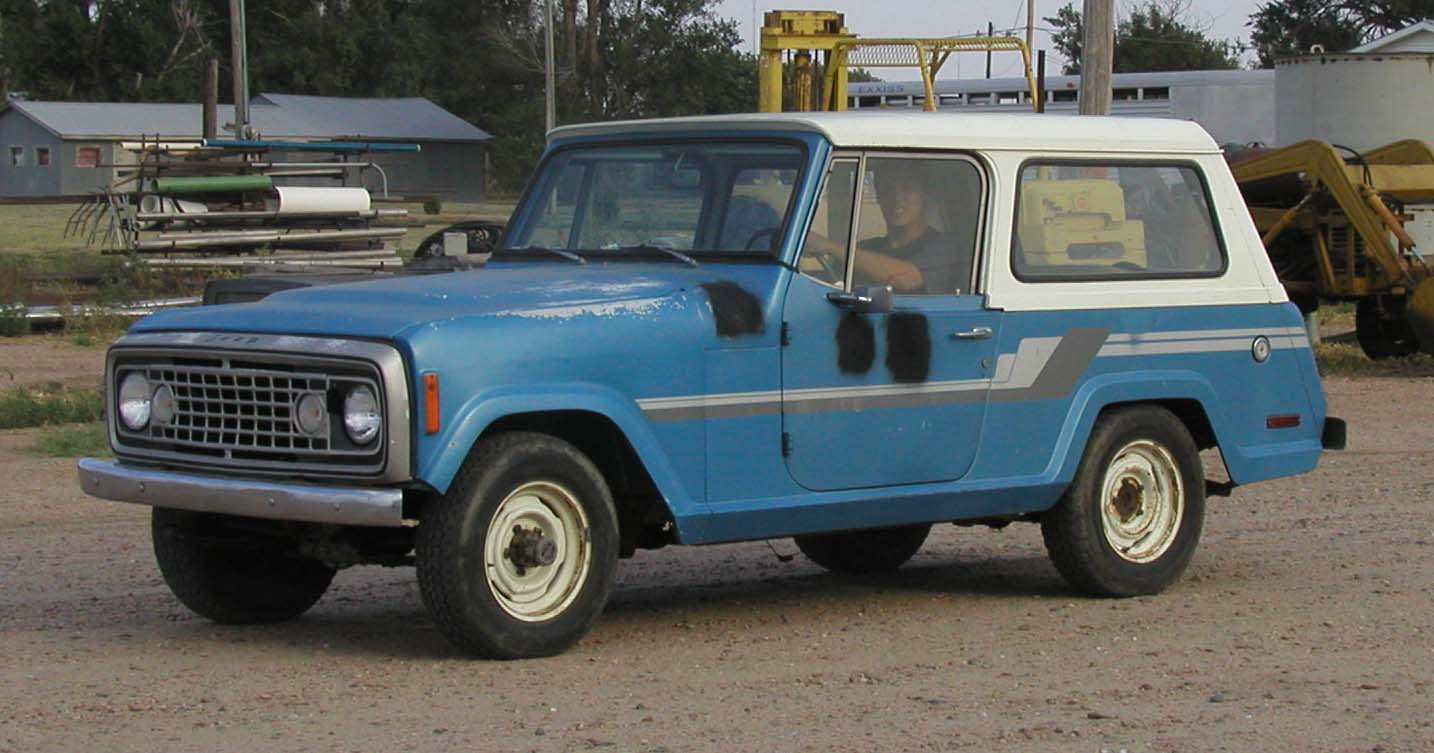 1973 jeep commando jeepster commando amc commando these pictures were taken in fall of 2006 when i installed a davis unified ignition hei distributor in this amc v8 304 in^3 engine the performance